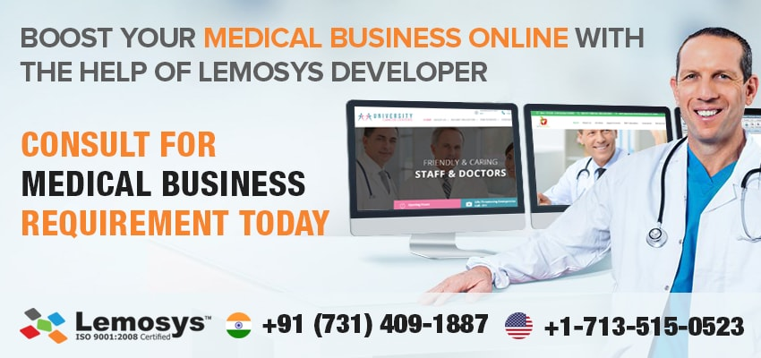 Top 5 Excellent Health Web Applications Developed by Lemosys Infotech