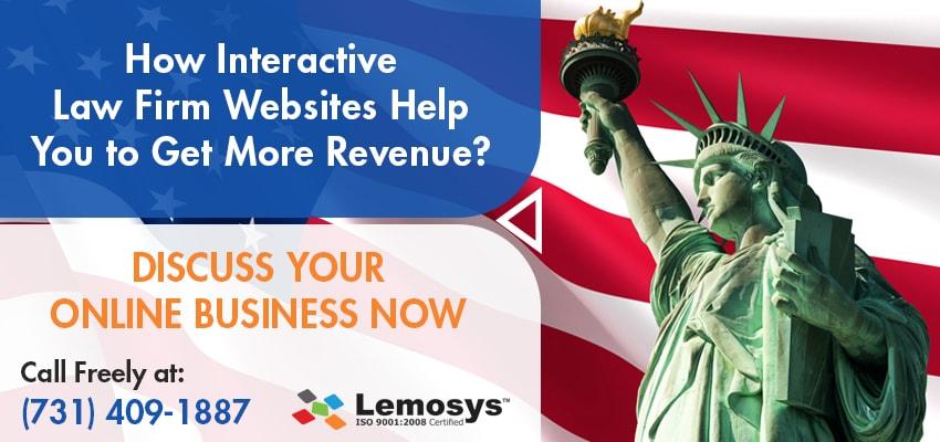 interactive Law Firm websites