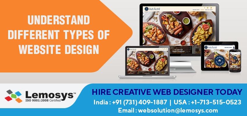 Types of Website Design