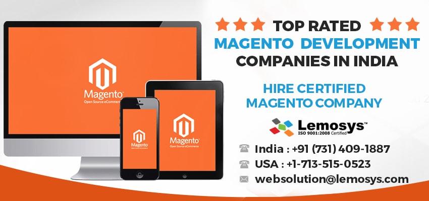Top Trusted Magento Development Company in India