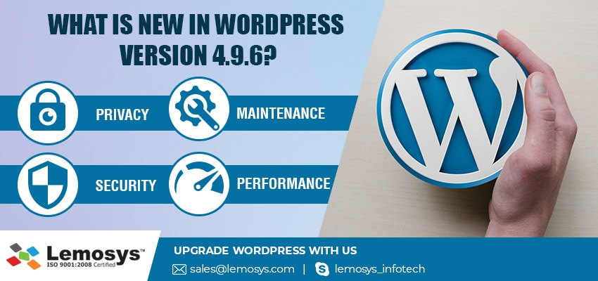 Know Latest Features of Wordpress 4.9.6
