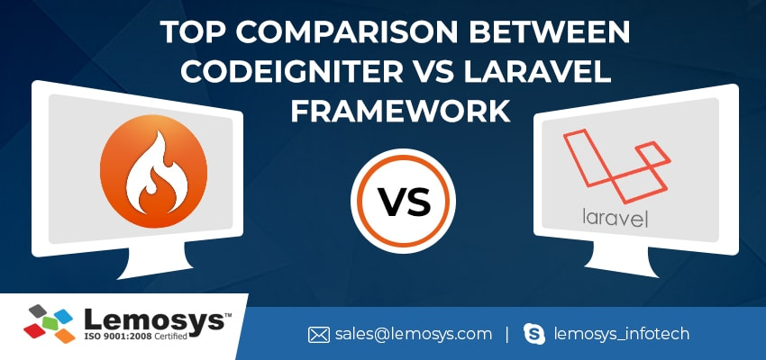 PHP Framework Comparison- Codeignator VS Laravel