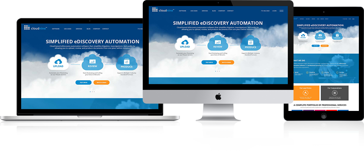 Cloudnineprovide E-Discovery Automation Software