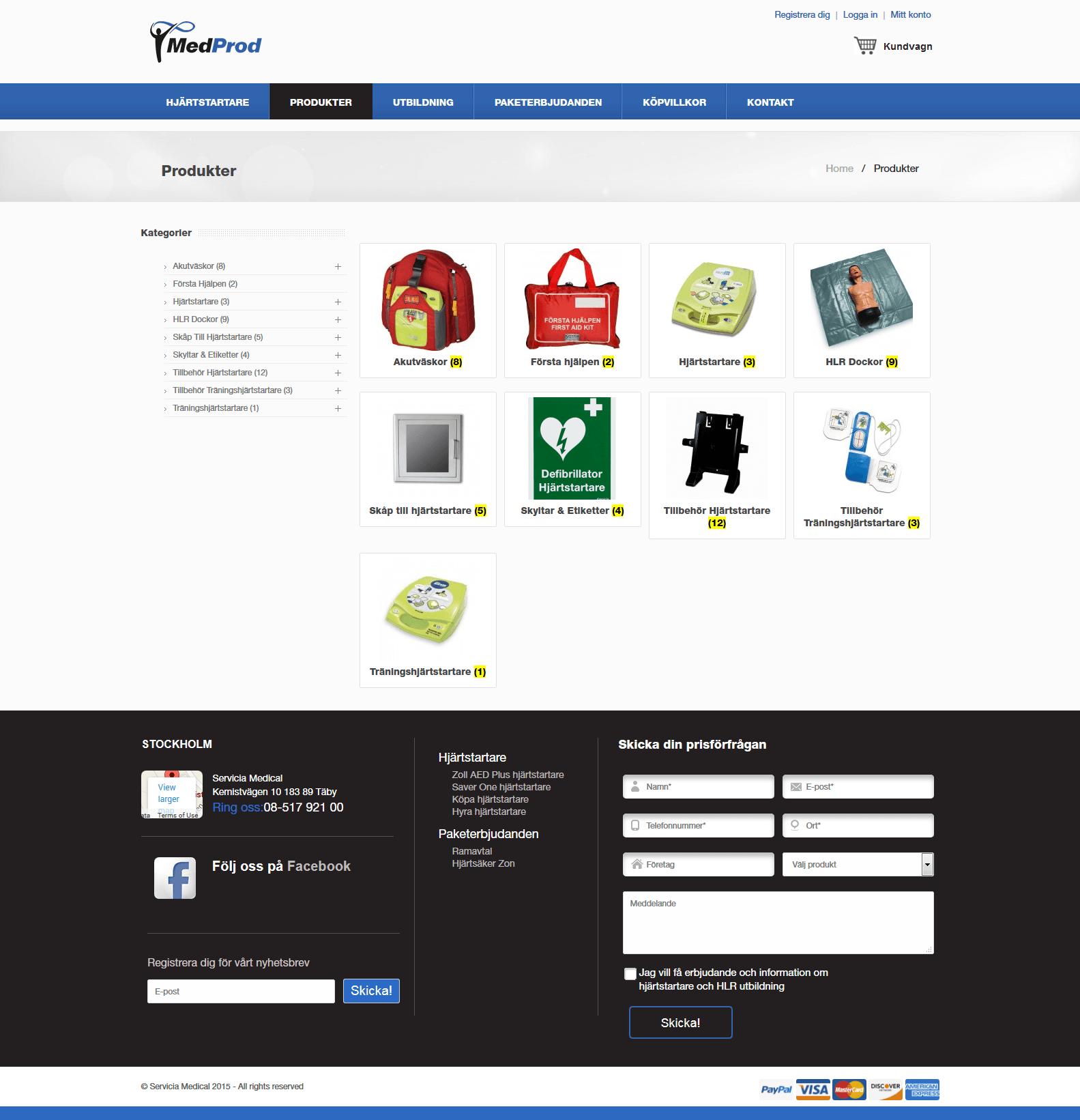 Med-Prod-Website Design And Developed By Lemosys