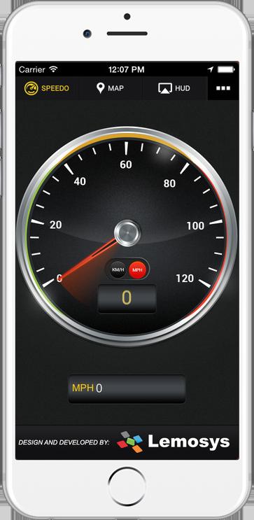 Speed Tracker Plus IOS Mobile App
