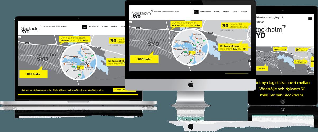 Stockholm Syd Website