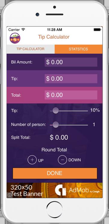 Tip Calculator Mobile App